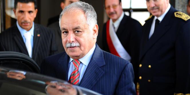 Al-Baghdadi Al-Mahmoudi, en octobre 2010.