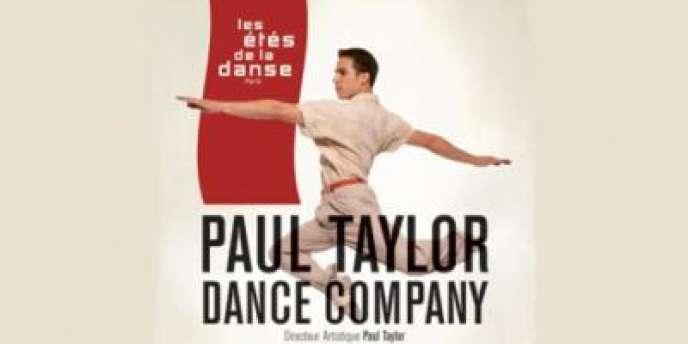 Visuel de la Paul Taylor Dance Company aux Etés de la danse à Paris, du 19 au 28 juin 2012.
