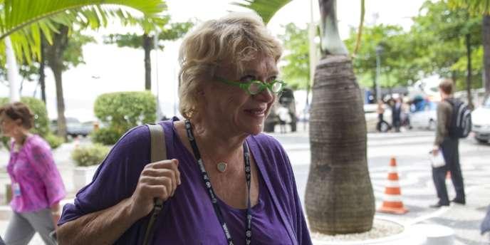 Eva Joly lors du sommet des Nations Unies Rio+20 au Brésil, le 20 juin.