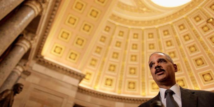 Le ministre de la justice américain, Eric Holder, a fait l'objet mercredi 20 juin d'un vote de défiance pour