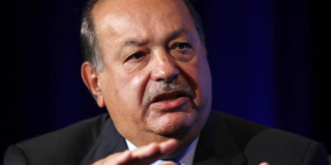 L'homme d'affaires mexicain Carlos Slim, l'un des hommes les plus riches du monde.
