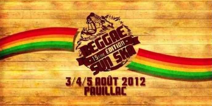 Visuel du Reggae Sun Ska à Pauillac, du 3 au 5 août 2012.