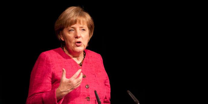 L'union bancaire est la priorité des priorités pour les présidents des différentes institutions européennes - ici, Angela Merkel le lundi 25 juin à Berlin.