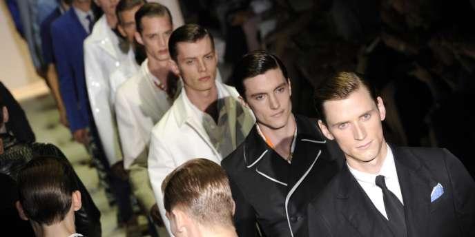 Défilé Gucci, lors de la semaine de la mode milanaise.