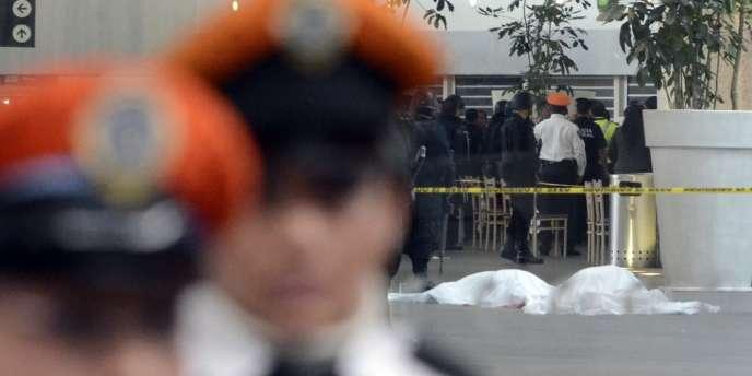 Les trois fonctionnaires abattus faisaient partie d'une unité de la