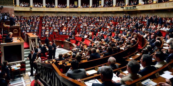 L'hémicycle de Assemblée nationale, lors de la rentrée parlementaire, le 26 juin 2012.