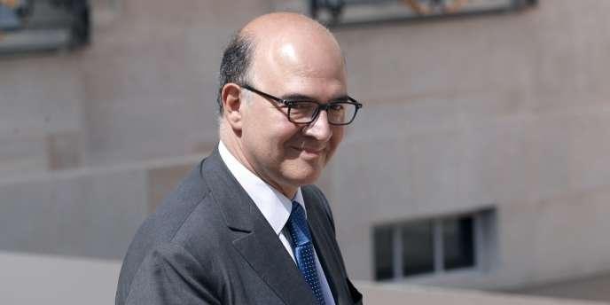 Le ministre de l'économie et des finances, Pierre Moscovici, le 22 juin à Paris.