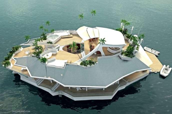 Oros Island, l'île flottante.