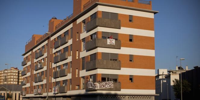 Un immeuble situé non loin du centre de Séville, en Andalousie.