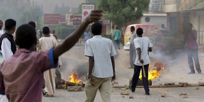 Plus d'une vingtaine de manifestations ont eu lieu, le 22 juin, dans les rues de Khartoum, capitale du Soudan.