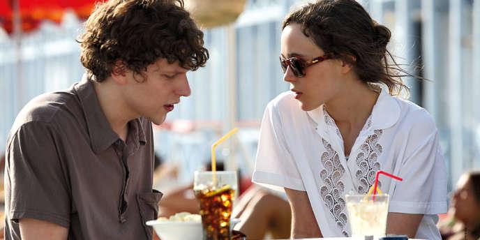 Jesse Eisenberg et Ellen Page dans le film américain de Woody Allen,