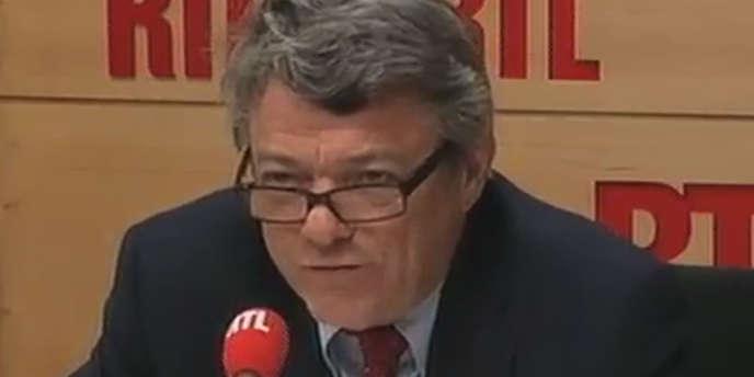 Jean-Louis Borloo sur RTL, le mardi 26 juin.