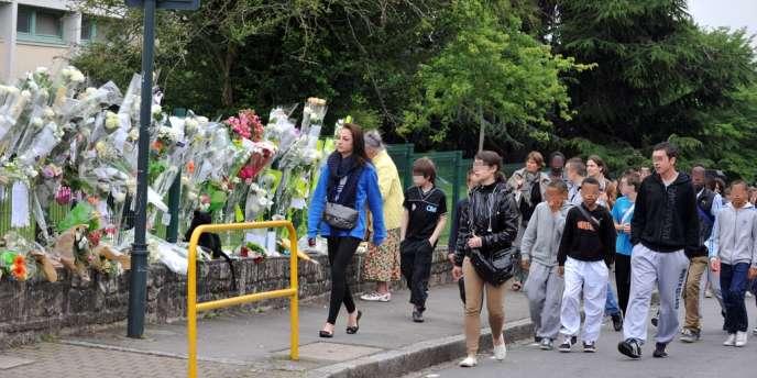 Kylian, 13 ans, était très apprécié dans le collège Cleunay de Rennes, où il est mort le 22 juin.