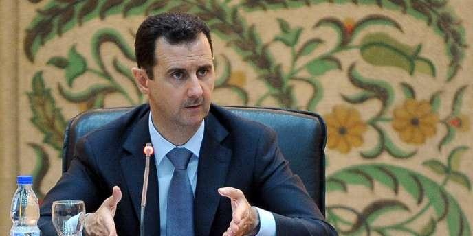 Bachar Al-Assad a évoqué mardi 26 juin une