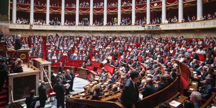 L'Assemblée nationale, le 26 juin 2012.