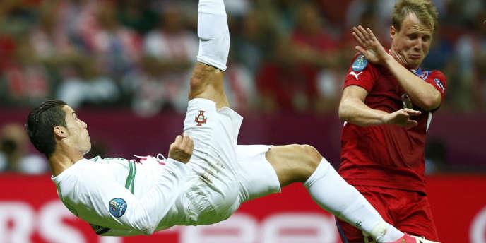 Cristiano Ronaldo, l'homme volant.
