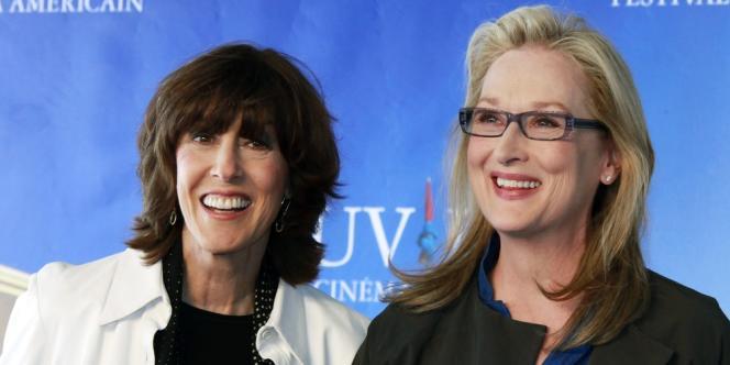 Nora Ephron et Meryl Streep au 35e Festival du film américain à Deauville, le 5 septembre 2009.