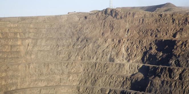 Mine de terres rares de Bayan Obo (Mongolie Intérieure, Chine)