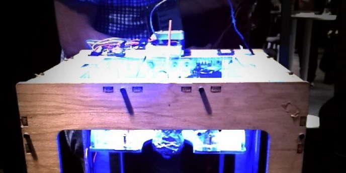 Une imprimante 3D MarketBot.