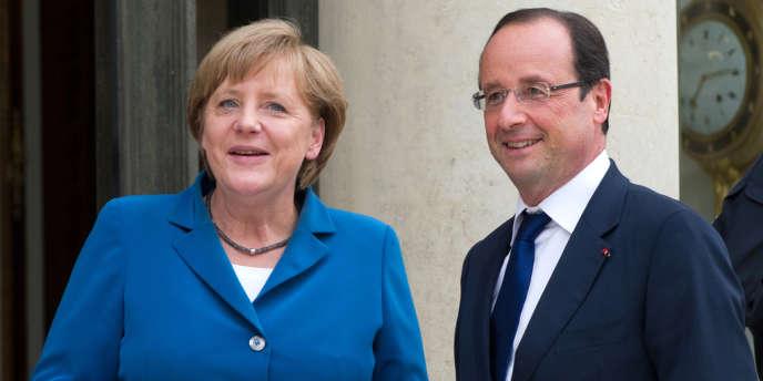 Le président français et la chancelière allemande, qui se sont entretenus par téléphone, se sont dits