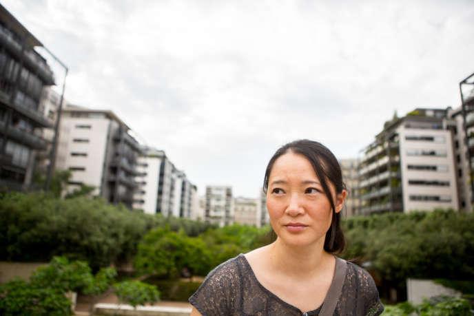 Yolaine Cellier, 39 ans, en couple depuis 7 ans, a une petite fille de 3 mois, a fondé l'association Racines coréennes en 1995.