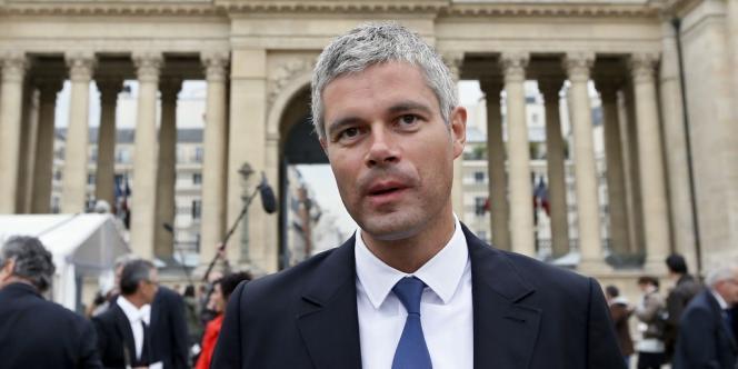 Laurent Wauquiez, le 19 juin, à l'Assemblée.