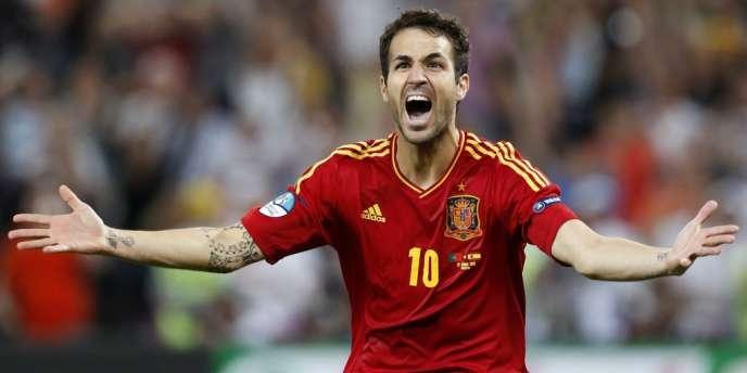 Fabregas a transformé le pénalty victorieux contre le Portugal.