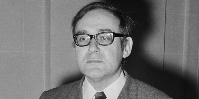 L'écrivain Robert Sabatier en janvier 1970.