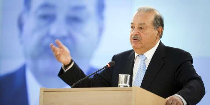 Carlos Slim, en juin 2012.