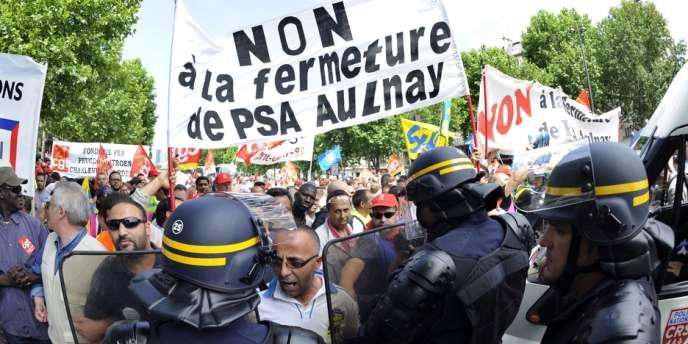 Le site PSA d'Aulnay est l'un des plus gros employeurs de Seine-Saint-Denis avec 3 000 CDI et 300 intérimaires.