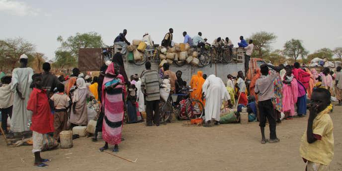 Alors que le Soudan du Sud a célébré son premier anniversaire comme Etat indépendant, le 9 juillet, des milliers de réfugiés continuent de fuir les combats.