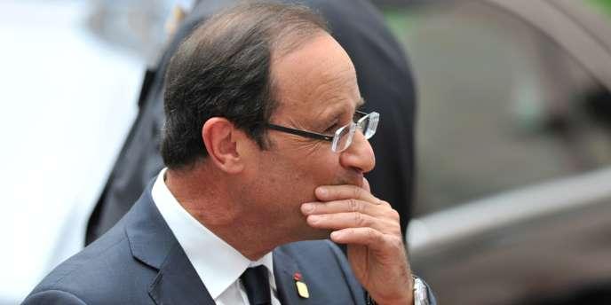 François Hollande, le 29 juin 2012 à Bruxelles.