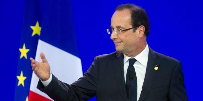 François Hollande à Bruxelles, le 29 juin 2012.