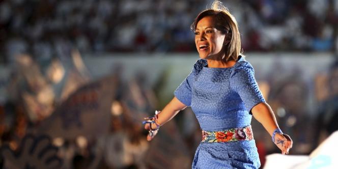 Josefina Vazquez Mota porte les couleurs du PAN, la formation politique du président Calderon
