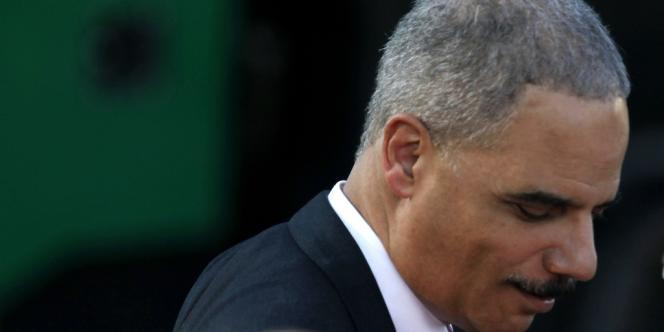 Eric Holder à la Maison Blanche, le 27 juin 2012.