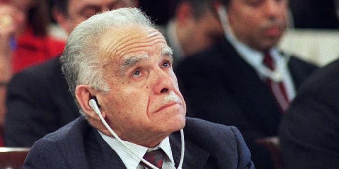 Yitzhak Shamir, ancien premier ministre israélien, est mort à l'âge de 96 ans.