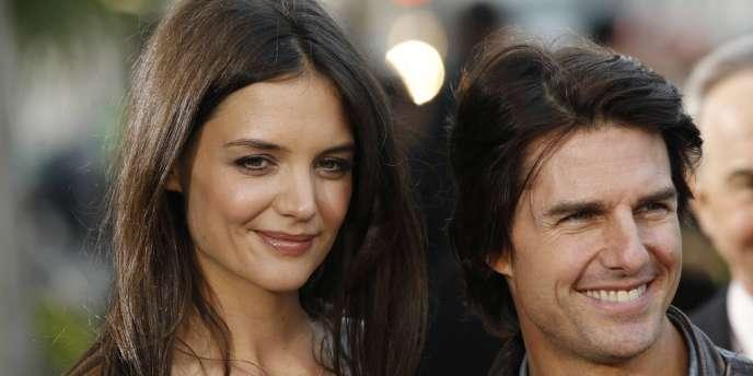 Tom Cruise et Katie Holmes, à Beverly Hills, le 28 mai 2011.