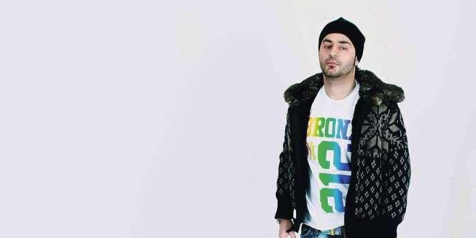 Le rappeur Shahin Najafi.