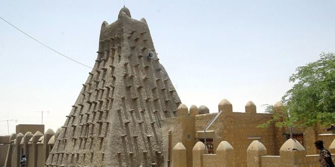 Vue d'une des mosquées de Tombouctou, en mai 2010.