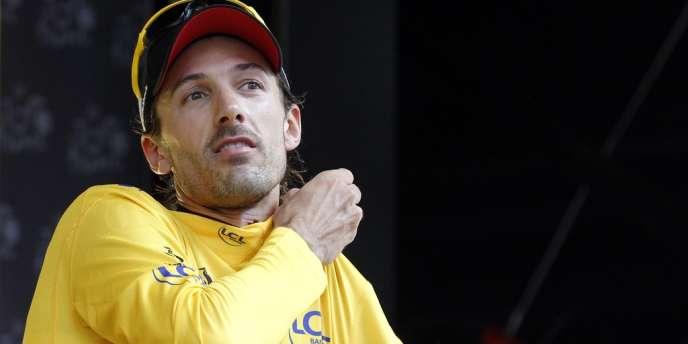 Le Suisse a remporté le contre-la-montre de 6,4 kilomètres couru à Liège, devant Wiggins et Chavanel.