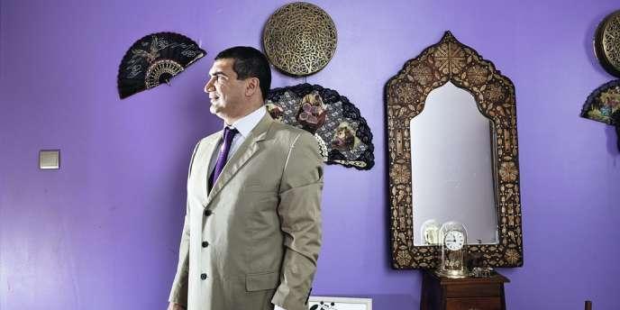 Yacine Djaziri, 43 ans, entrepreneur, membre du PS.