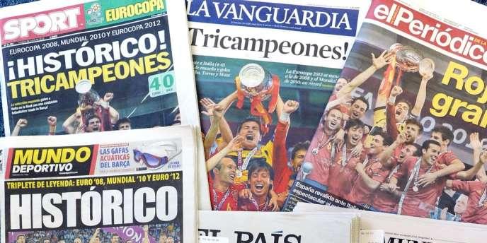 La presse espagnole salue ses invincibles.