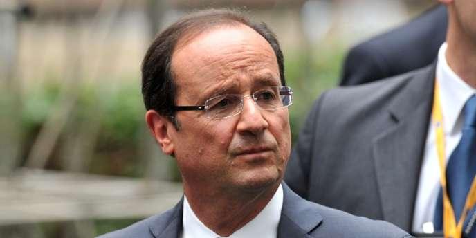 François Hollande, lors du sommet européen à Bruxelles, le 29 juin.