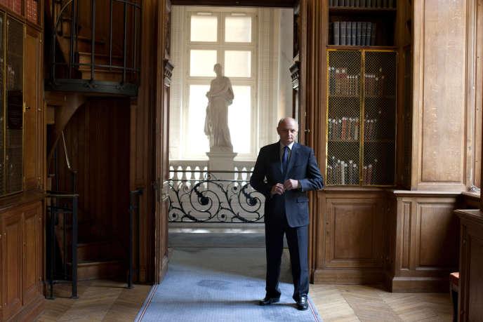 Didier Migaud dans la galerie Philippe-Séguin de la Cour des comptes, vendredi 29 juin.