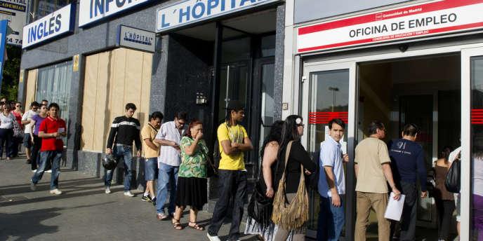 L'Espagne est de loin le plus mauvais élève au sein de l'Eurozone en matière de chômage.