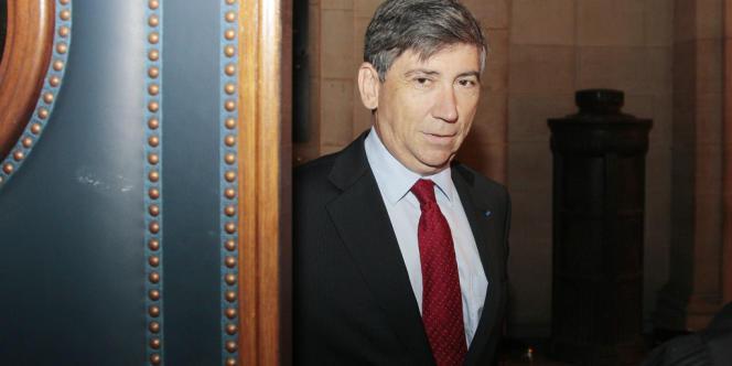 Gérard Rameix, président de l'Autorité des marchés financiers (AMF), à Paris.