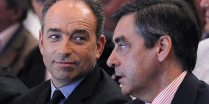 Jean-François Copé  et François Fillon, le 26 mai. L'ancien premier ministre entend se définir comme le