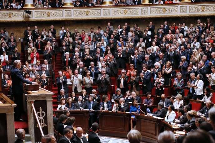 Le premier ministre Jean-Marc Ayrault à l'Assemblée nationale, mardi 3 juillet.