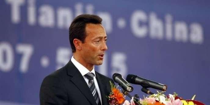 Fabrice Brégier, PDG d'Airbus, le lundi 2 juillet.