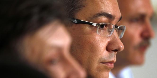 Le premier ministre roumain Victor Ponta, le 10 juin, à Bucarest.